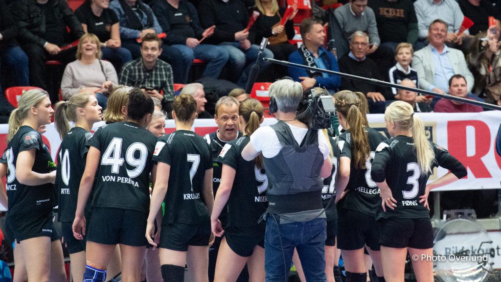 København Håndbold skal en tur til Sverige i...